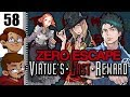 Let's Play Zero Escape: Virtue's Last Reward Part 58 - The Flash Game About Slapping Clover's Boobs