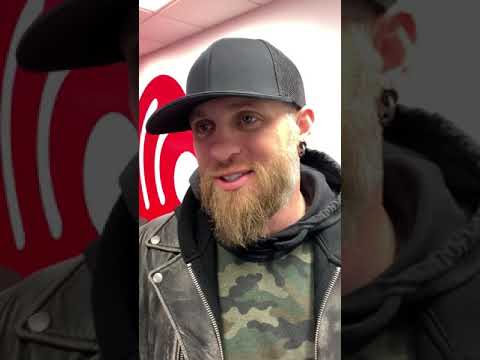 Michael J. - Brantley Gilbert Stopped By the station to talk Motorcycles and New Music!