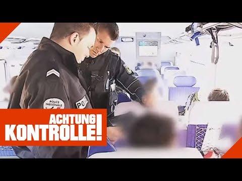 Grenzkontrolle im Schnellzug: Was findet die Polizei? 1/2   Achtung Kontrolle   