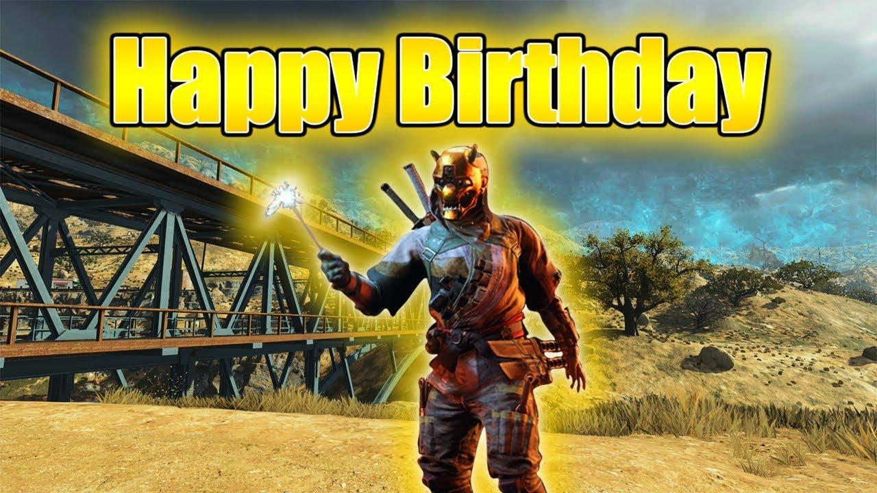 Happy Birthday Cod Blackout Ps4 Gameplay Youtube
