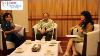 Happy Parenting with Novita Tandry tamu Bapak Prof. Dr. IR. Budi Susilo Soepandji,