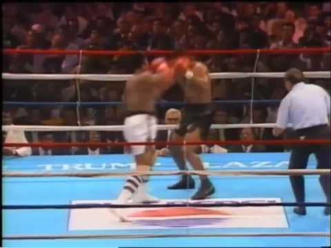 Mike Tyson V's Michael Spinks TKO