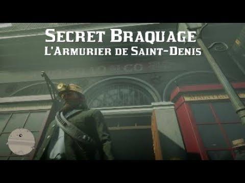Red Dead Redemption 2 - Secret Braquage De L'Armurier De Saint-Denis