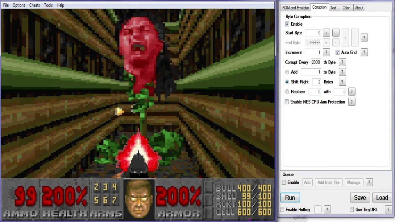 John Romero in GBA Doom II!