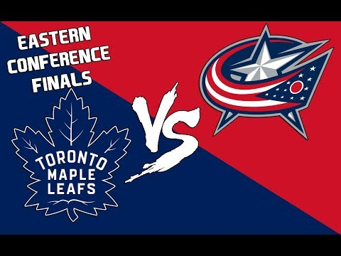 CONFERENCE FINALS VS COLUMBUS BLUE JACKETS - NHL 18 - Toronto Maple Leafs Franchise Mode Ep. 12