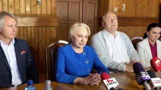 Viorica Dancila, gafa la Suceava &quotSuntem in Hunedoara&quot