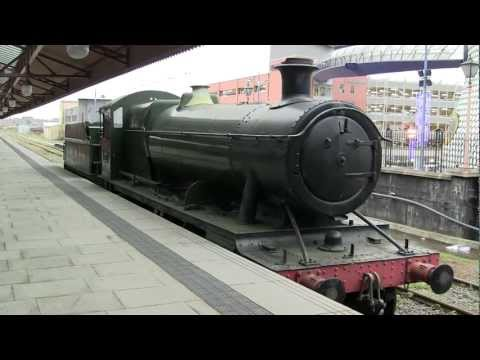 Great Western Railway 2885 steam locomotive train - Birmingham Moor Street station