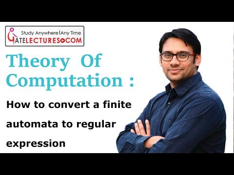 finite automata and regular expression generator