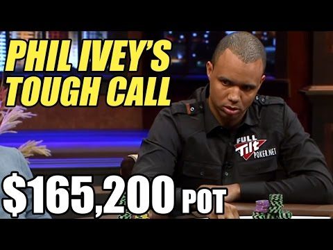 $165,200! Can Phil Ivey SOUL READ The Maniac?