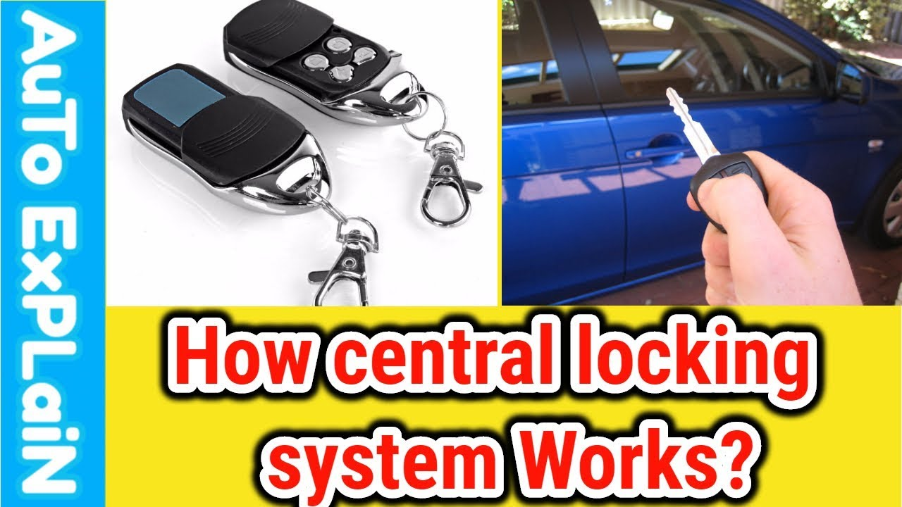 How Central Locking Works Hindi||What is Central Locking