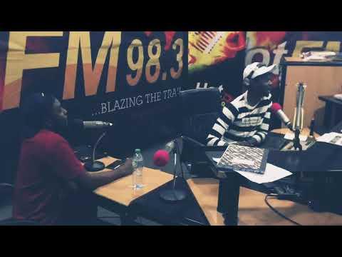 MicL live at Hotfm Abuja