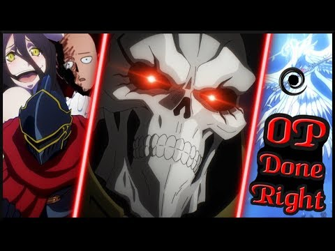 How to Write an Overpowered Main Character that Commands Fear - Ainz Ooal Gown from Overlord