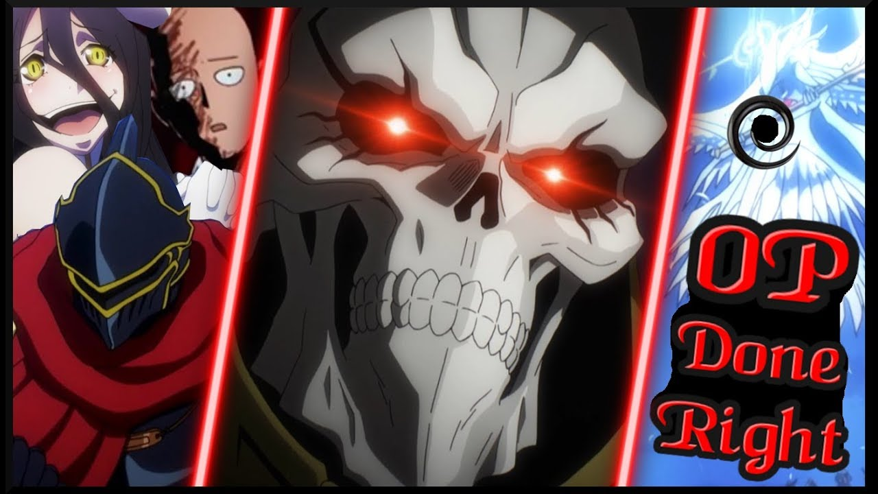How To Write An Overpowered Main Character That Commands Fear Ainz