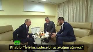 (TÜRKÇE) İşte Çok Beklenen Putin ve Khabib Buluşması!