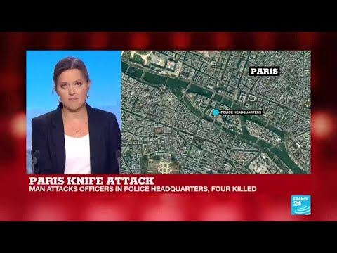 Paris knife attack: Witness speaks to France 24