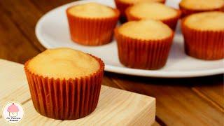 Como hacer mantecadas de naranja / How to make orange cupcakes.