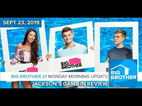 Jackson's Big Brother 21 Game in Review #BB21