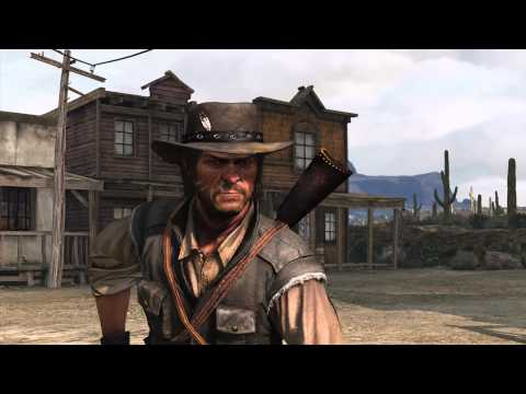 Red Dead Redemption - John disarms with one shot in duel