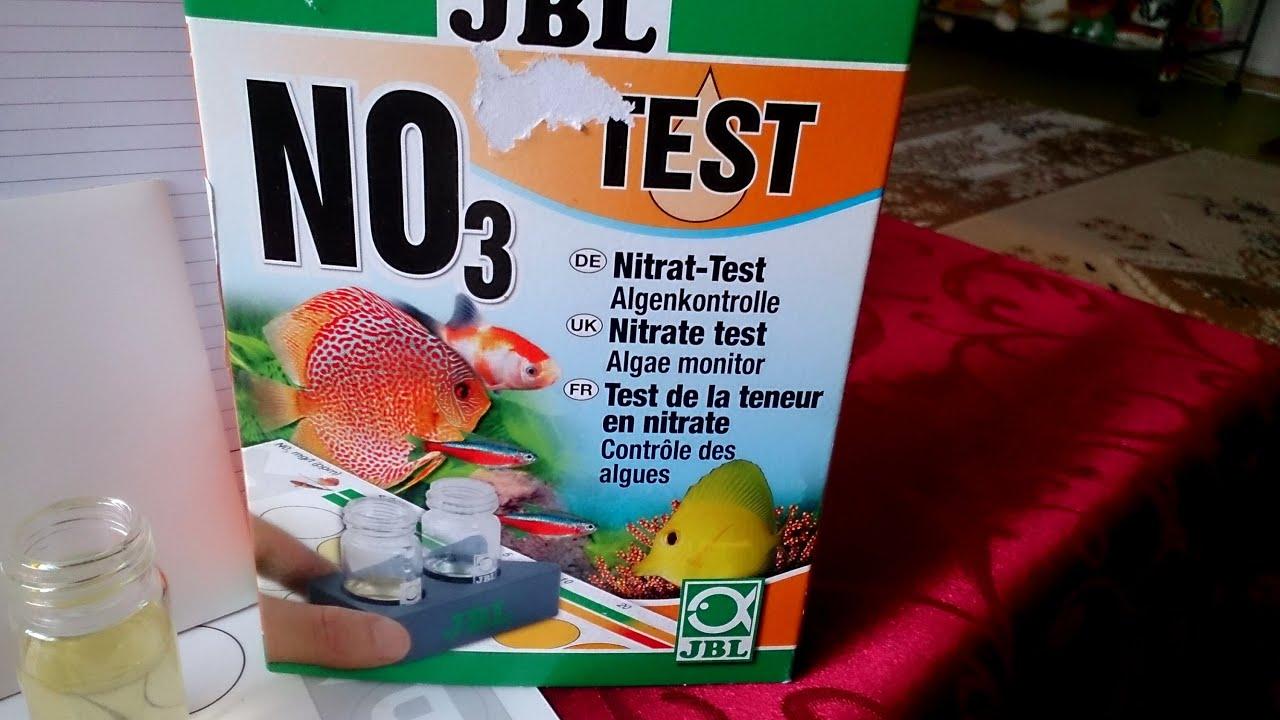 Тест воды на нитраты NOз