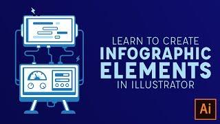 إنشاء Infographic العناصر في Illustrator CC - 2017