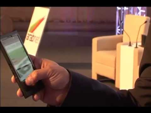 BB10 hands-on demo at ArabNet Riyadh 2012