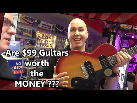 Are $99 Guitars Worth The Money?  Company Vs. Consumer