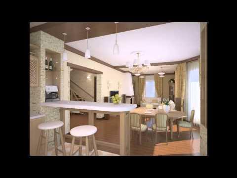 Дизайн кухни совмещённой с гостиной видео, фото, идеи