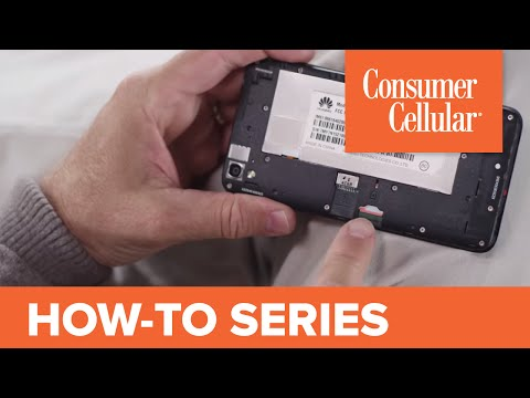 Huawei Vision 3: Removing and Inserting the SIM Card (11 of 11) | Consumer Cellular