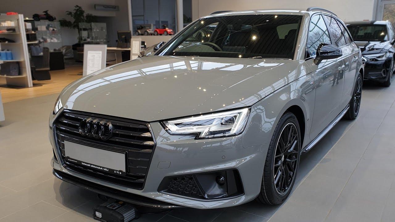 2019 Audi A4 Avant 40 Tdi S Tronic S Line Black Audi View