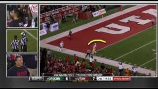 Utah vs Oregon Fail 2014