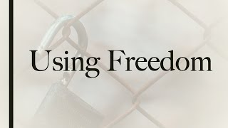 Using Freedom - Tymme Reitz