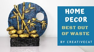 Home Decor/Best out of waste/Upcycling/art and craft/Clay Mural