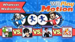 Wii Play Motion - 4-Player Multiplayer! Skip Skimmer! Pose Mii Plus! Spooky Search!