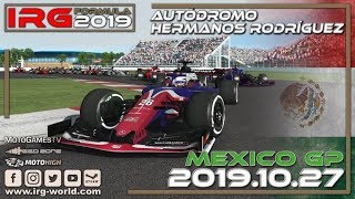 rFactor 2 - IRG Formula 2019 - Round 17 - Mexico GP - LIVESTREAM