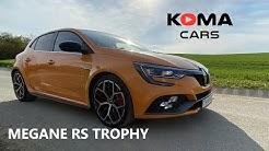 Reanult MEGANE RS Trophy - 2019/2020 - detail walkaround, interior, exterior, exhaust sound