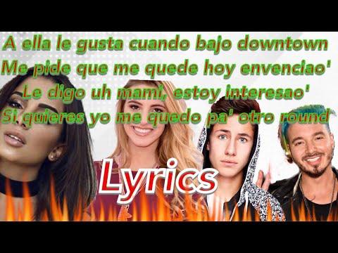 Anitta & J Balvin - Downtown   Lyric  ft Lele pons & Juanpa Zurita