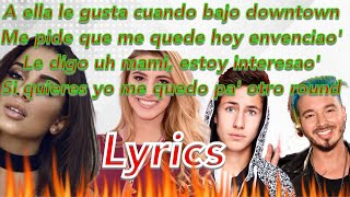 Anitta & J Balvin - Downtown ( Official Lyric Video) ft. Lele pons & Juanpa Zurita Lyrics