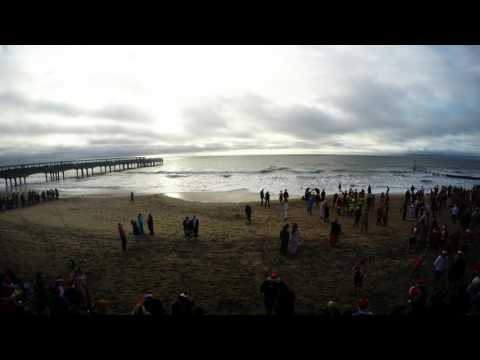 Bournemouth's White Christmas Dip Timelapse 2016