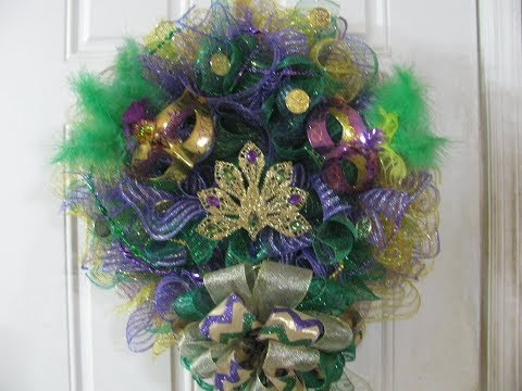 part 2 Mardi Gras 2019 Wreath