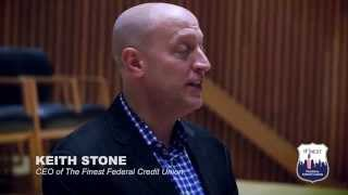 Keith Stone The Finest Federal Credit Union CEO at One Police Plaza