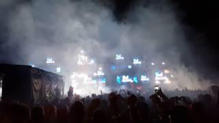 Hardwell @ Ultra Europe 2016 fireworks
