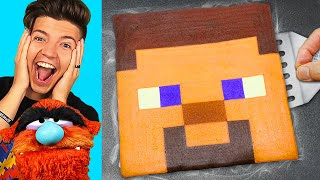 CREATIVE DIY MINECRAFT PANCAKE ART!
