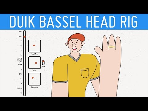 Simple Head Rig with Duik Bassel | After Effects Character Rigging