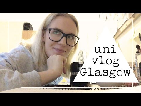 A Day in the Life of a Literature Undergrad | Glasgow Vlog