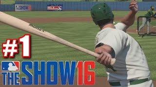 BABE RUTH SUCKS! | MLB The Show 16 | Road to the Show #1