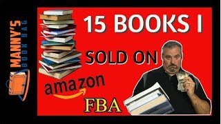 15 Books That I Sold on Amazon FBA