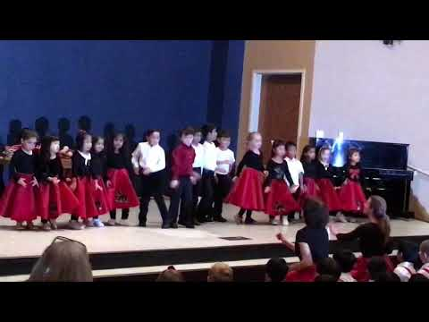 Avanthika Montessori kids academy performs