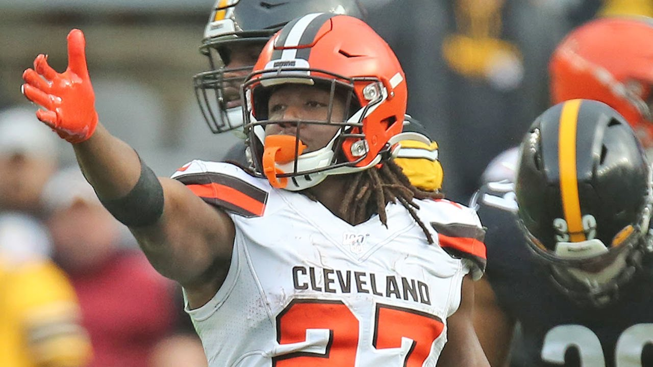 Where will Kareem Hunt be lined up the most in the Browns offense?