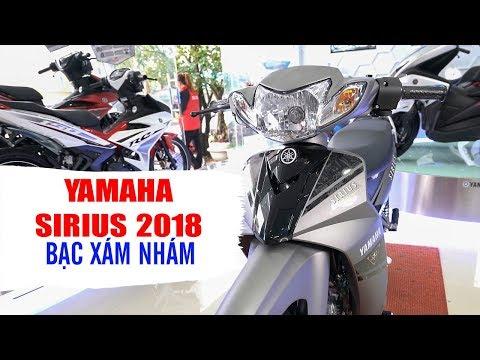 Yamaha Sirius 2018 Xám Nhám Mat Special ▶ Tổng quan sản phẩm