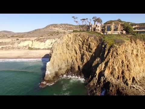 Crystal Cove State Park in Orange County California